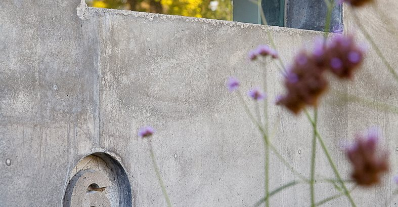 House 6, House Number, Concrete, Wall Site Cheng Design Berkeley, CA