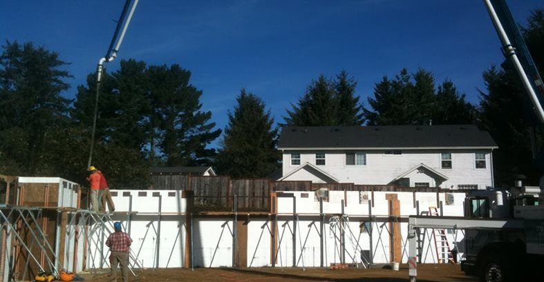 Icf Forms, Energy Efficient Home Site Alchemy Construction Inc Arcata, CA