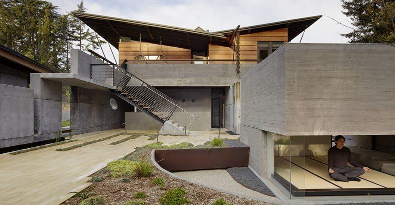 Photovoltaic Roof Panels Site Cheng Design Berkeley, CA