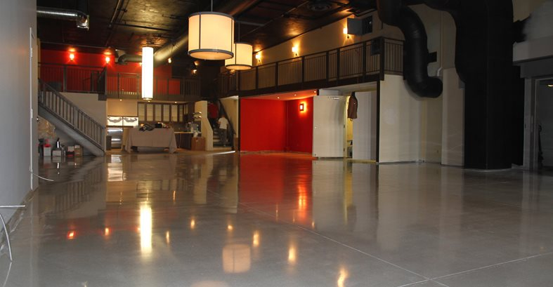 Polished, Floor, Gray Site Concrete Floors Polishing & Sealing Ltd Ottawa, ON