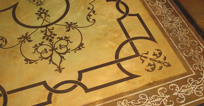 Rug, Stencil Site Modello Designs Chula Vista, CA