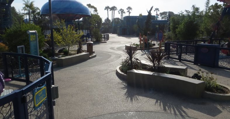 Seaworld, Concrete, Theme Park Site Concepts In Concrete Const. Inc. San Diego, CA