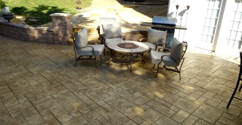 Second Patio Site Greystone Masonry Inc Stafford, VA