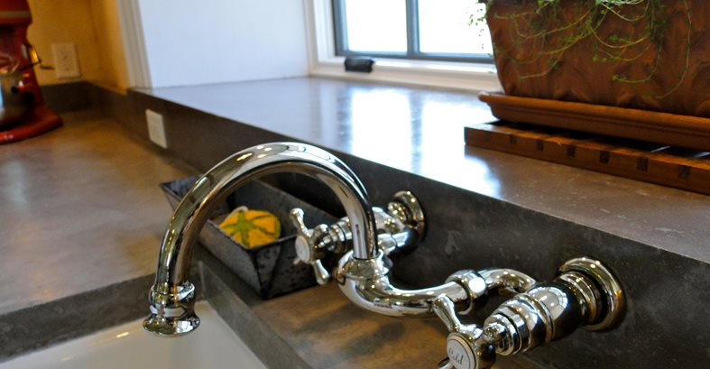 Sink Fixture Site Tellus 360 Design & Build Lancaster, PA