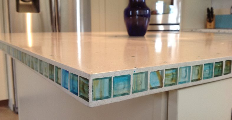 Kitchen Countertop Tile Edge