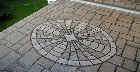 Stamped Concrete Patio, Stamped Concrete, Concrete Stamping Unique Concrete West Milford, NJ