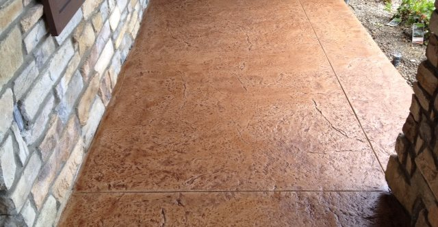 Textured Concrete Site KB Concrete Staining Norco, CA