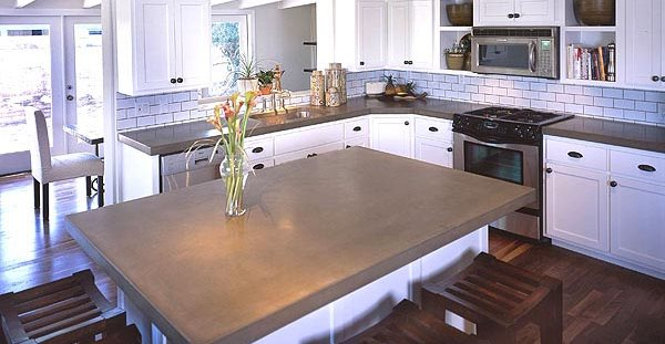 Concrete Kitchen Countertops The Concrete Network