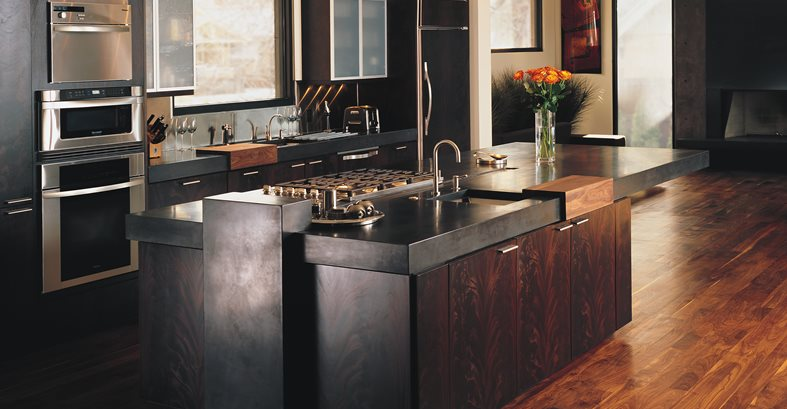 Concrete Kitchen Countertops - The Concrete Network