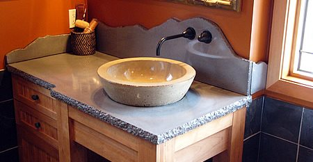 Raised Bowl, Sink Architectural Details Sand & Stone Saskatoon, SK