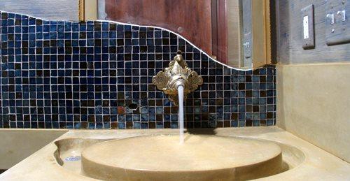 Inverted Concrete Sink, Concrete Sink Design Concrete Countertops JM  Lifestyles Randolph, NJ