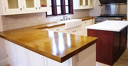 Kitchen, Countertops Concrete Countertops Set In Concrete LLC Houston, TX