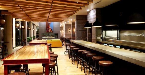 具体台面,餐厅,酒吧混凝土台面概念LLC Brighton,CO