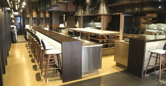 Kitchen, Restaurant, Polished Concrete Countertops Chicago Architectural Contractors Elmwood Park, IL