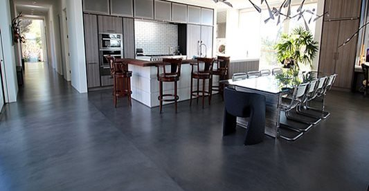 Kitchen, Modern Concrete Floors Quick Creations Newcastle, CA