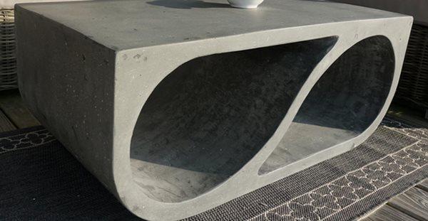 Coffee Table, Concrete Table Concrete Furniture element east studio Montauk, NY