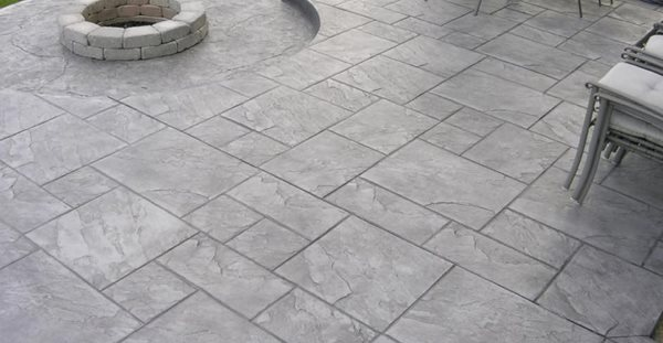 Concrete, Decorative Concrete, Stamped Concrete, Concrete Patio, Concrete Firepit Concrete Patios Texian Concrete Houston, TX