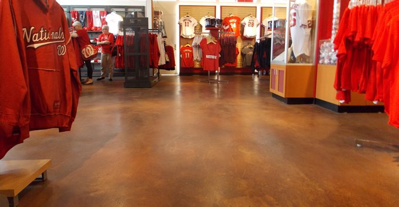 Commercial Concrete Floor, Retail Concrete Floor Commercial Floors Sundek of Washington Chantilly, VA