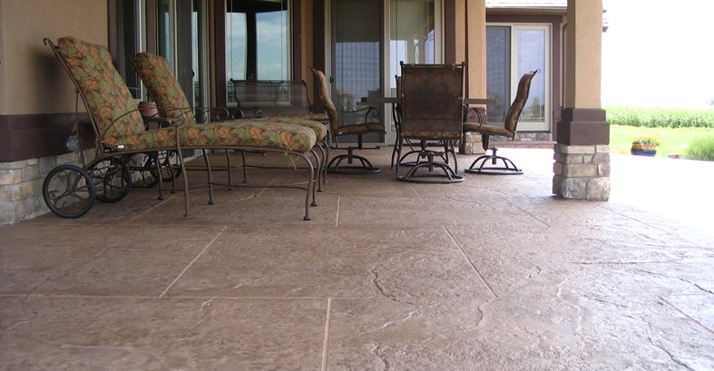 Stamped Concrete Concrete Patios R.T. Concrete Greeley, CO