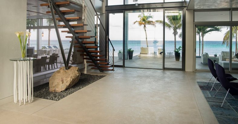 Colored Concrete, Interior Floors Concrete Floors Tom Ralston Concrete Santa Cruz, CA