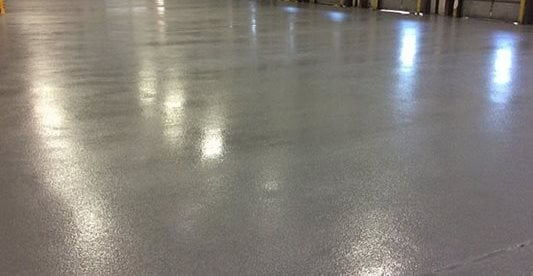 Epoxy, Warehouse Concrete Floors Dragon Scale Flooring Laurel, MD