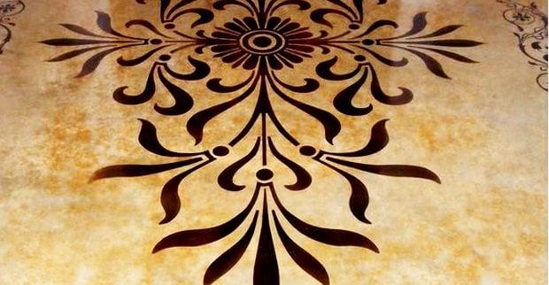 模板,抛光,复杂的混凝土地板海德堡设计与贝塞斯达,MD