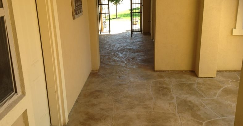 Flagstone, Pattern, Stamped Concrete Stamped Concrete Applied Concrete Solutions Cedar Park, TX