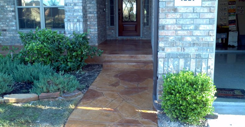 Stamped Concrete Contractors Near Me In Austin Texas The