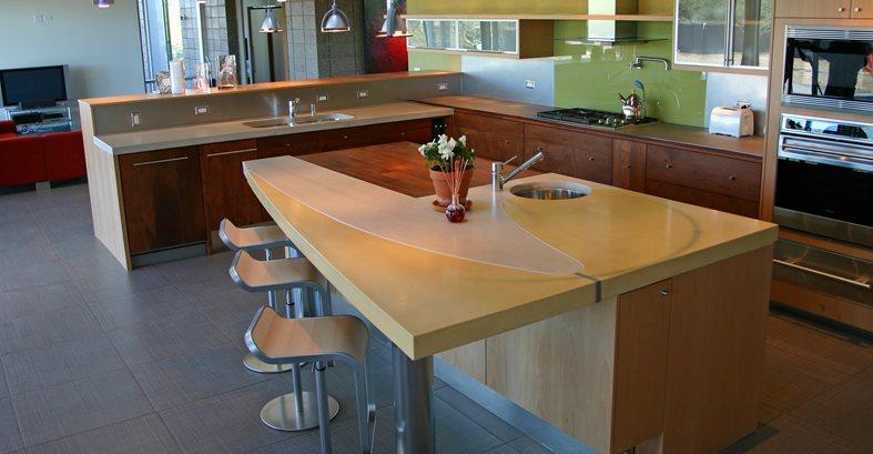Bar Countertops - The Concrete Network