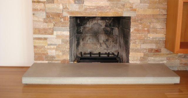 Concrete Fireplace, Concrete Fireplaces Fireplace Surrounds DC Custom Concrete San Diego, CA