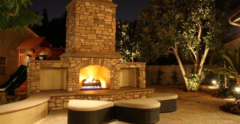 Modern Fire Pit Site The Green Scene Chatsworth, CA · Outdoor Fireplace  Safety Site The Green Scene Chatsworth, CA ...