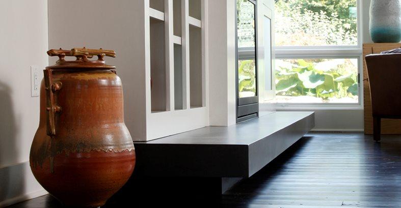 Fireplace Fireplace Surrounds SunWorks Decorative Concrete LLC Annville, PA