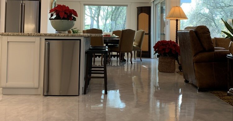 Stained Floors, Contemporary Site Sierra Concrete Design, Inc.