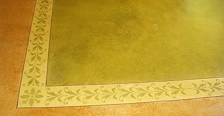 Stained, Stencil Concrete Polishing  by JL Designs Simi Valley, CA