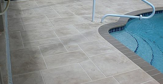 Enclosed, Pool Deck Site Select Coatings, Inc. Boynton Beach, FL