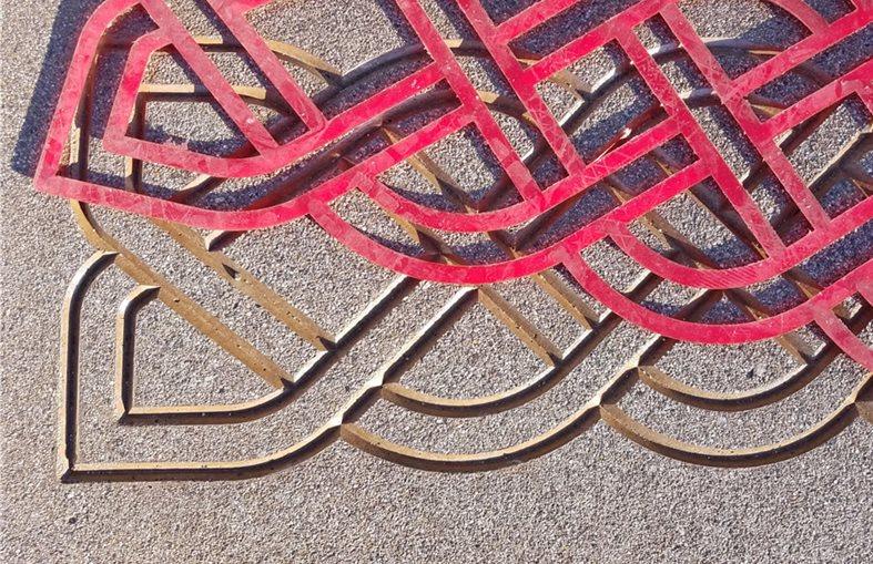 Concrete Dimensions, Concrete Stencil Site Solomon Colors ,