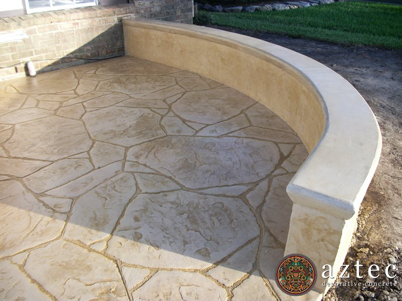 Stamped Concrete Medallions : Images about patios on pinterest stamped concrete