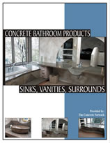 Concrete Bathroom Products Design Catalog
