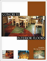 Concrete Interior Floors Design Catalog