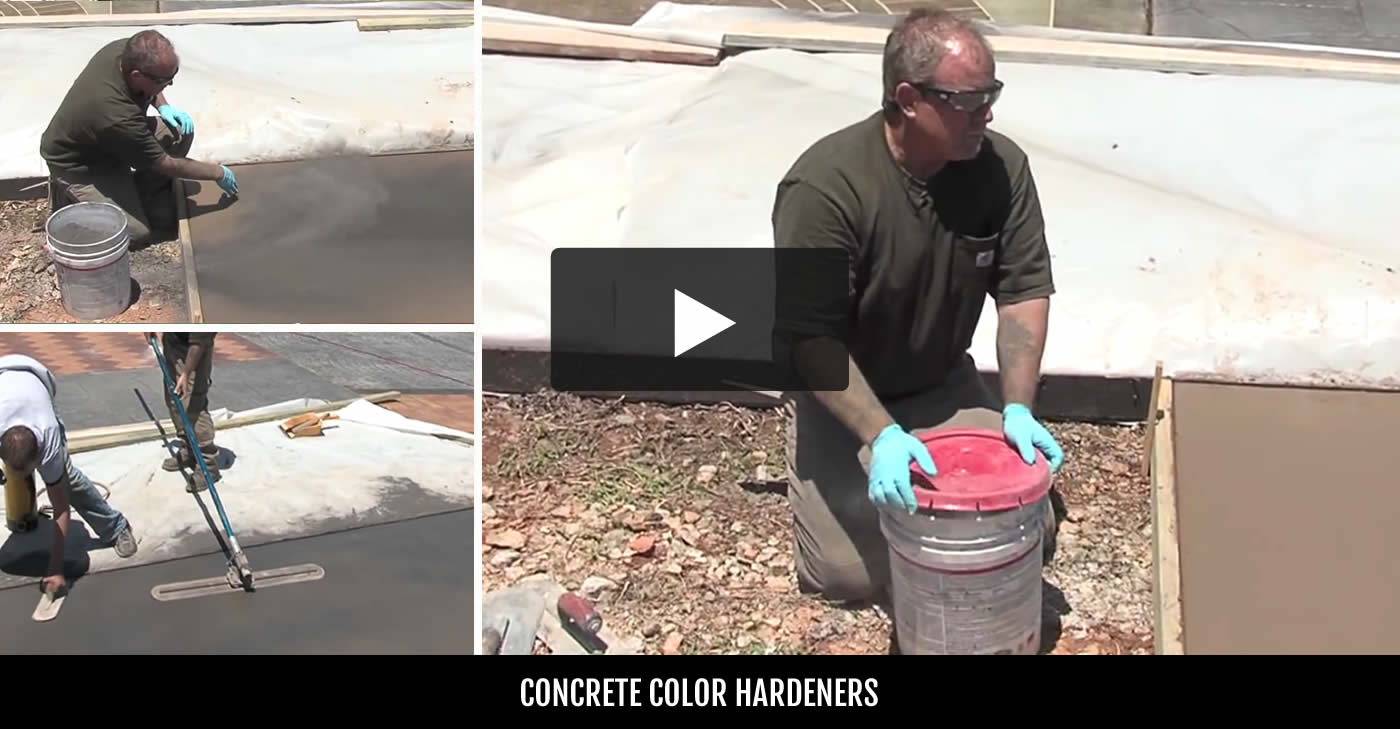 Concrete hardener buying tips expert advice the concrete network color geenschuldenfo Image collections