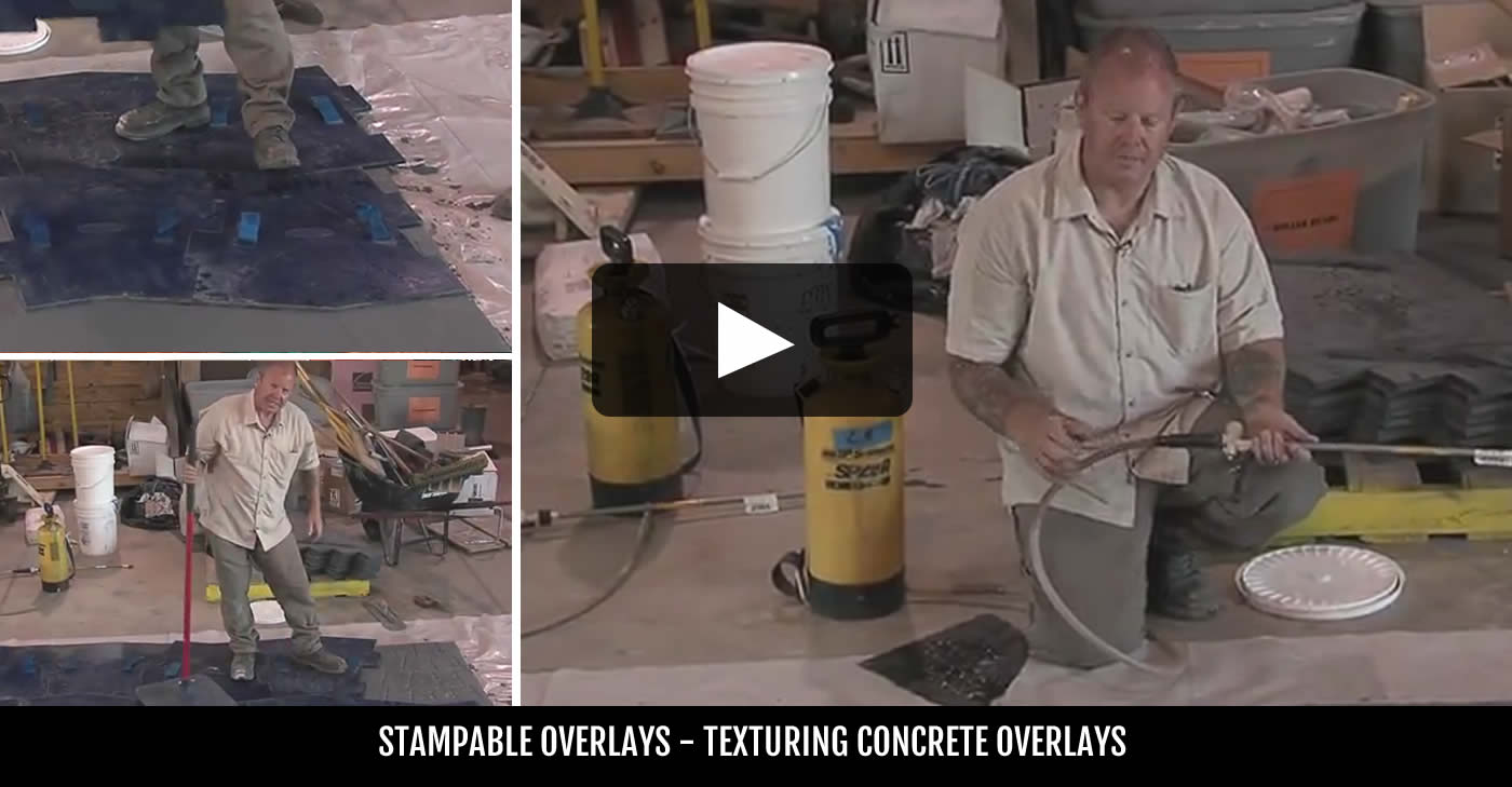 Concrete Resurfacing Products Amp Installation Tips The